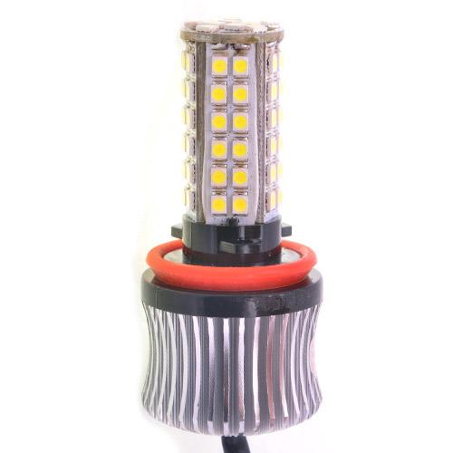 автомобильная светодиодная лампа H8 69 Smd 4030 с обманкой по